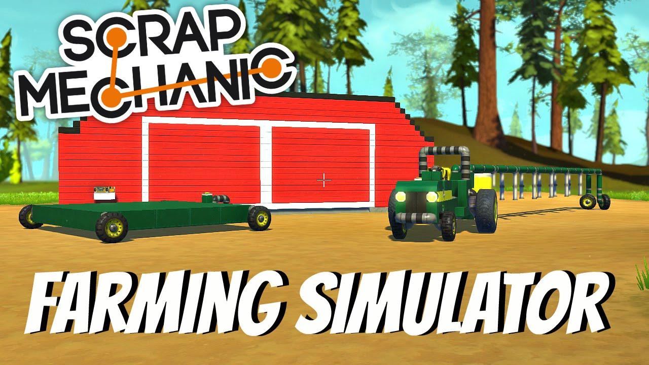 scrap mechanic simulator