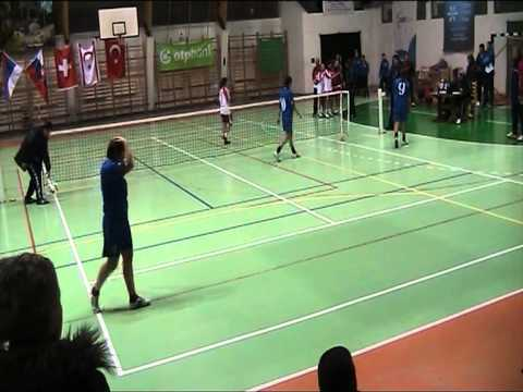 Footballtennis World Championships 2012  for Women Triple  Bronze Medal Northern Cyprus Vs Moldavia