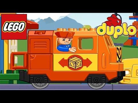 ЛЕГО ДУПЛО Поезд. Железная дорога в Обучающей Игре Лего Дупло / LEGO DUPLO Train