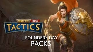 SMITE TACTICS: founders day packs