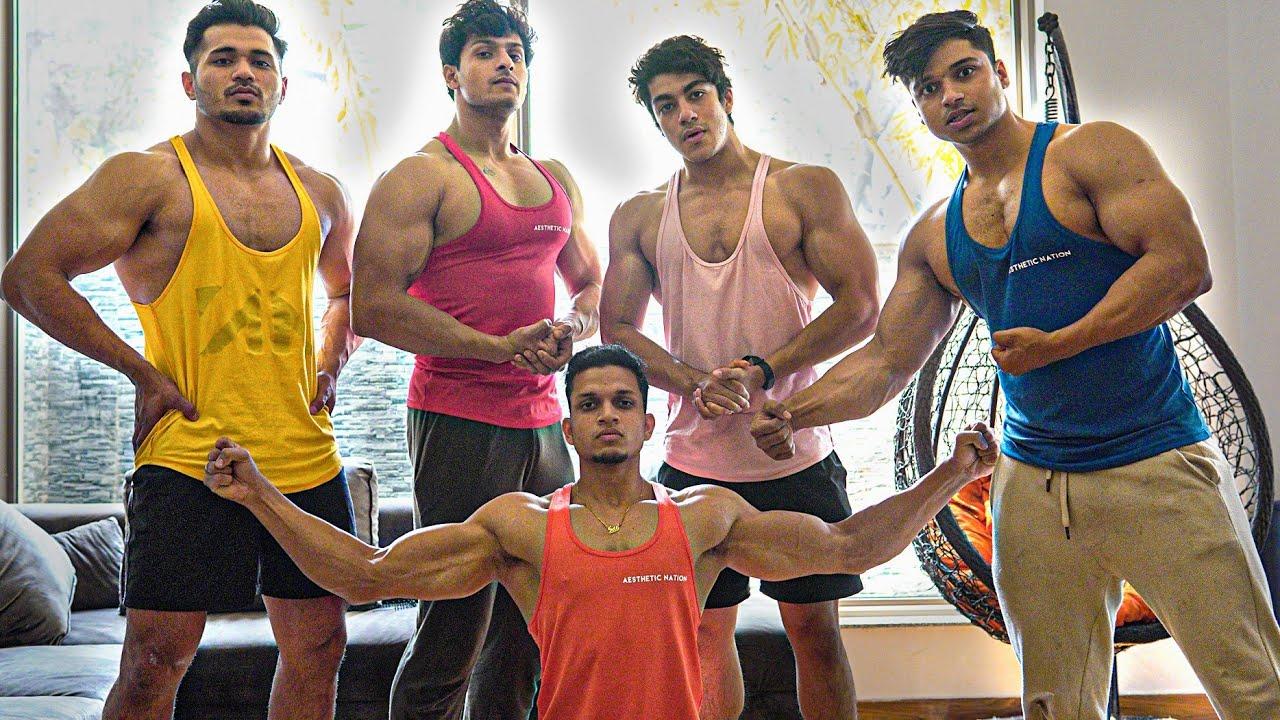 AAJ TO MAZA AA GAYA : DAY 3😍 @Siddhant Rai Sikand @Yash Sharma Fitness @Saket Gokhale @Fit Minds
