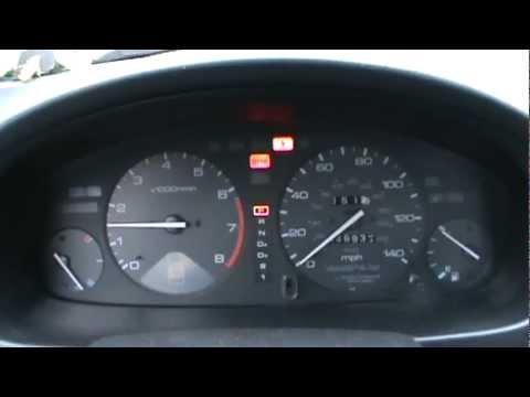 1996 Honda Accord Cold Start & Dash View - YouTube