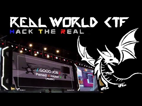 Hacking Competition In Zhengzhou China - Real World CTF Finals 2018