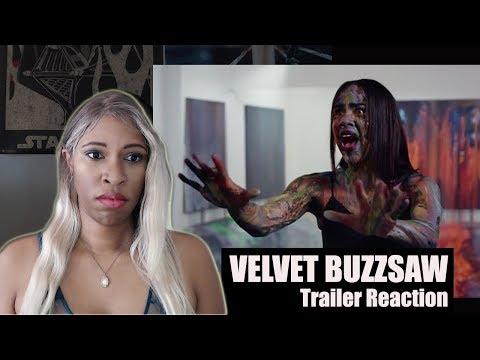 VELVET BUZZSAW Official Netflix Trailer Reaction