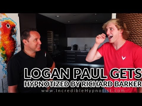 Logan Paul Gets Hypnotized by Comedy Stage Hypnotist Richard Barker