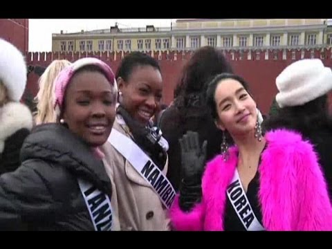 RUSSIA MISS UNIVERSE (Miss Universe 2013 contestants gather in Moscow)