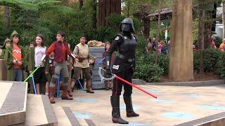 Jedi Training: Trials of the Temple - full show at Disney