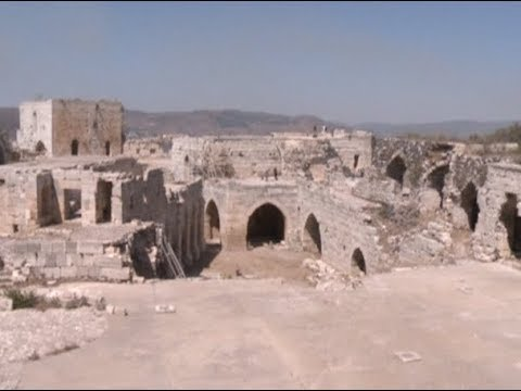 Syrian Ancient Cultural Sites Krak des Chevaliers Tormented by Long time Wars