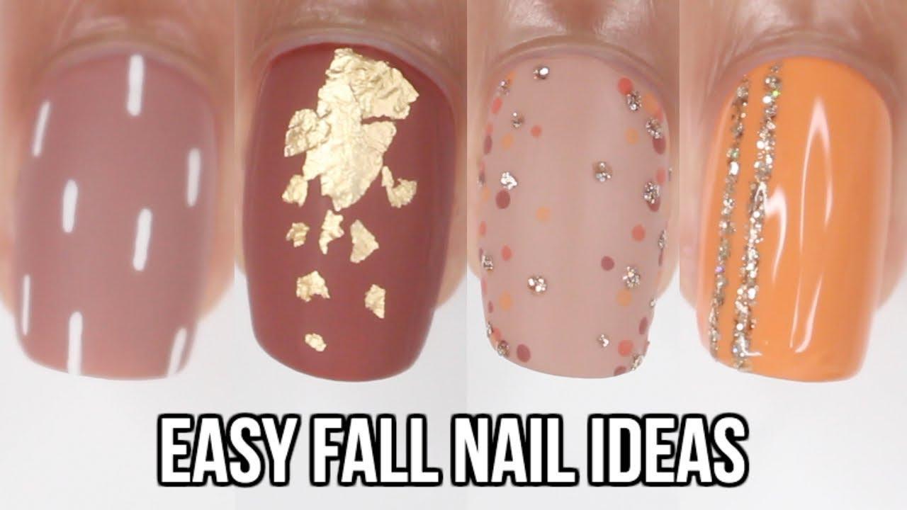 Easy Fall Nail Ideas Nail Art Compilation