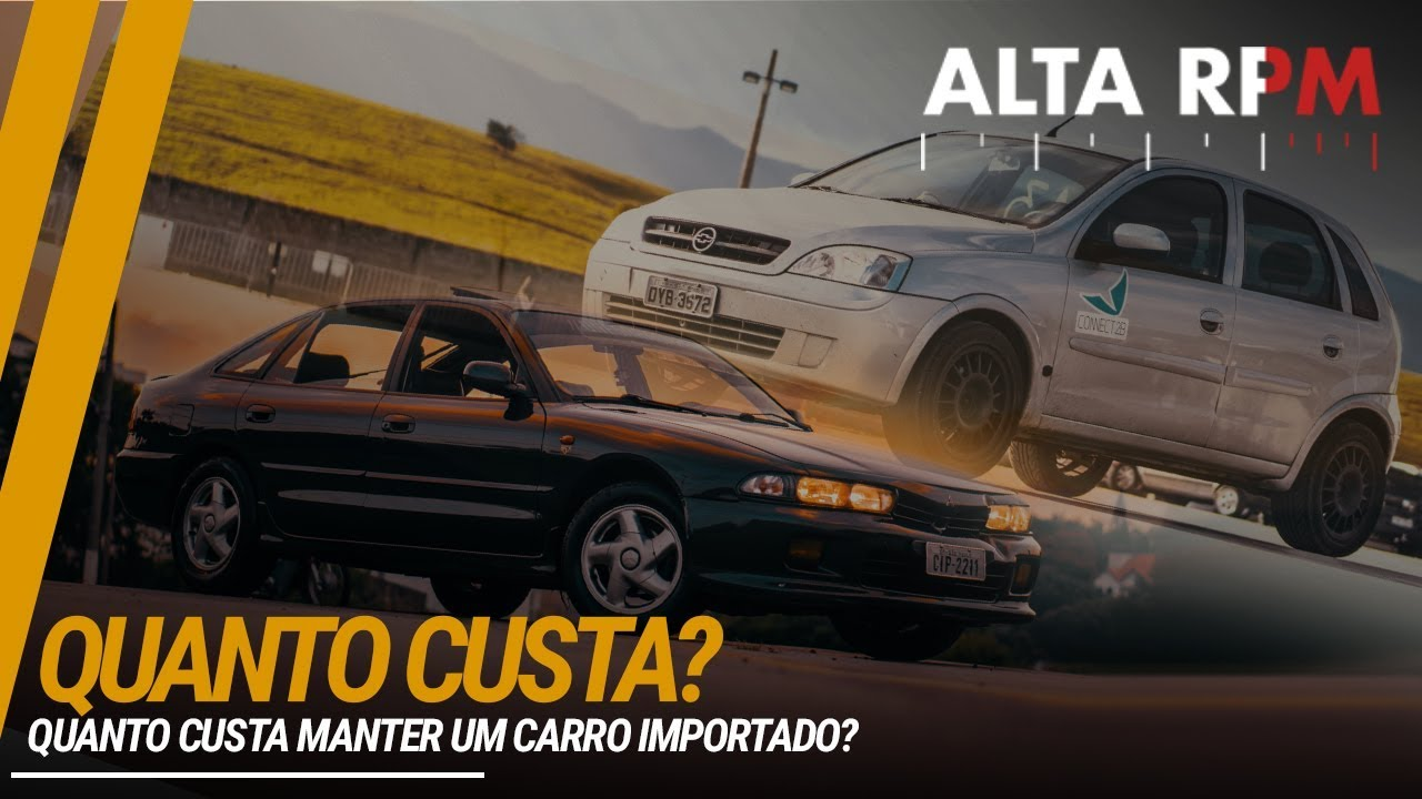 QUANTO CUSTA? CARRO POPULAR x CARRO IMPORTADO (FT. ALTA RPM)