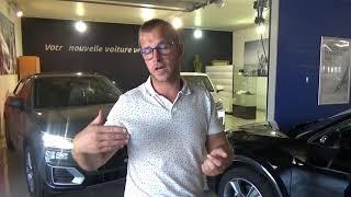 Audi Q2 Design 1,4 L TFSI 150cv boître Automatique STronic : Les Occasions du Lion par Brice