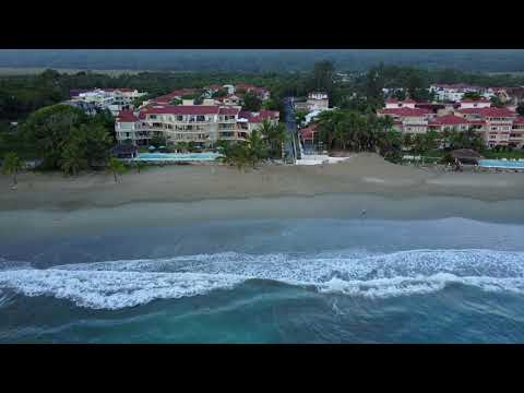 Cabarete Beach Dominican Republic HD (drone)