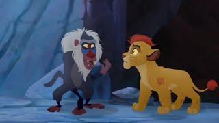 Kion tells Rafiki about Scar