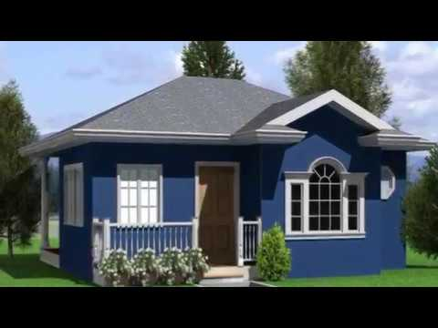 Low Cost 2 Bedroom House Plans Designs Youtube