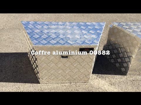 bigfic coffre trap ze aluminium 00582 pour remorque. Black Bedroom Furniture Sets. Home Design Ideas