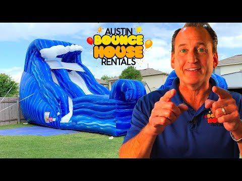 Austin Bounce House Rentals - Wild Wave Water Slide Rentals In Austin TX!
