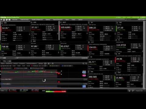 Live Webcam Volatility Trade 6/14/2016