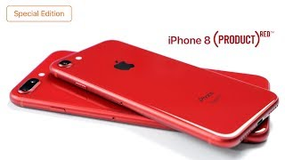 Распаковка iPhone 8/8 Plus (PRODUCT) RED Special Edition - социальный эксперимент