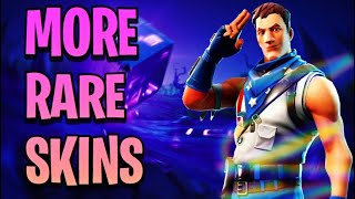 Peaux Fortnite qui sont devenus RARE! (Star Spangled Trooper, Wild Card - Plus) Saison 7
