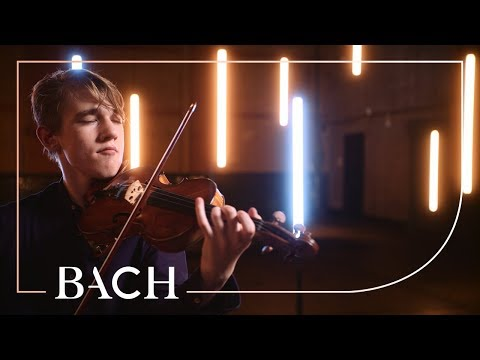 Bach - Gigue from Violin partita in D minor BWV 1004 - Hulsing   Netherlands Bach Society