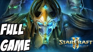 Starcraft 2 Legacy of the Void Gameplay Walkthrough Part 1 Campaign Story Let