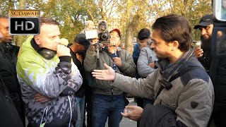 P1 - Failing To Answer! Mansur vs Christians | Speakers Corner | Hyde Park
