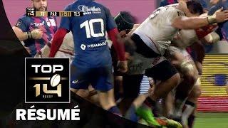 TOP 14 - Résumé  Paris-Toulouse: 15-18 - J16 - Saison 2016/2017