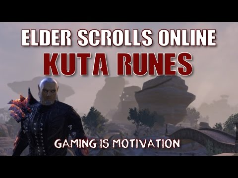 Elder Scrolls Online | Where to farm Kuta Runes and how to be fast while doing that?