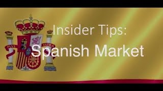 Insider Tips Spanish Market | Barbara Wood Tourism Ireland Madrid Office Spain thumbnail