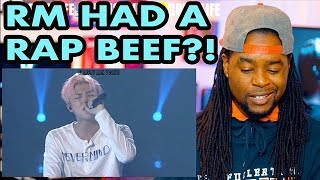 An Introduction to BTS: Rap Monster Version | RM had a Rap Beef?! | REACTION!!!