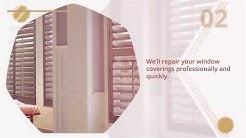 Window Covering Repair Services | Window Treats Inc