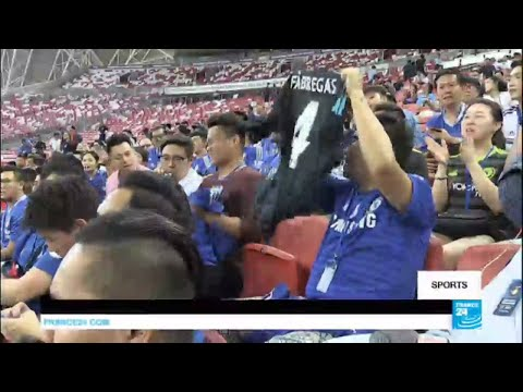 Football: Chelsea F.C. tours in Singapour, a dream come true for Asian fans