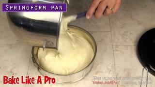 Simple Sponge Cake Recipe - Detailed & EZ to follow !