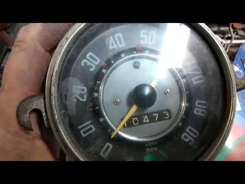 VW speedometer repair DIY must see