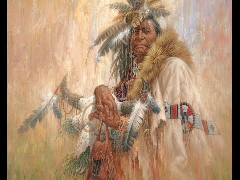 Indian shamansk musik - Blanda att meditera och slappna av