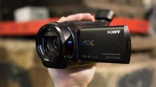 США. Купили Sony FDR-AX33 4K, ОБЗОР, Unboxing Video Camera(ПОМОЩЬ ИММИГРАНТАМ в США - http://ru-florida.com Мы рады помочь всем, кто собирается на отдых или ПМЖ в США в солнечный..., 2015-07-22T21:53:19.000Z)