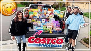 SURPRISING BRAWADIS WITH $1000 WORTH OF CANDY!!