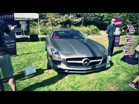3M Matte Wrapped Mercedes-Benz SLS AMG by Canawrap and West Coast Custom Wraps