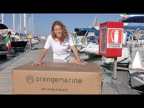 Unboxing e recensione tender Orangemarine