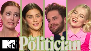 The Politician Cast Play Guess The Real Or Fake Presidential Quotes | MTV Movies