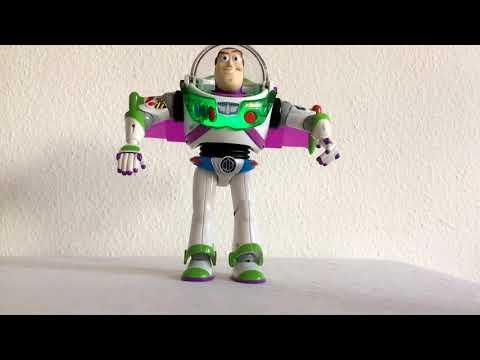 Buzz Lightyear with anti-gravity belt
