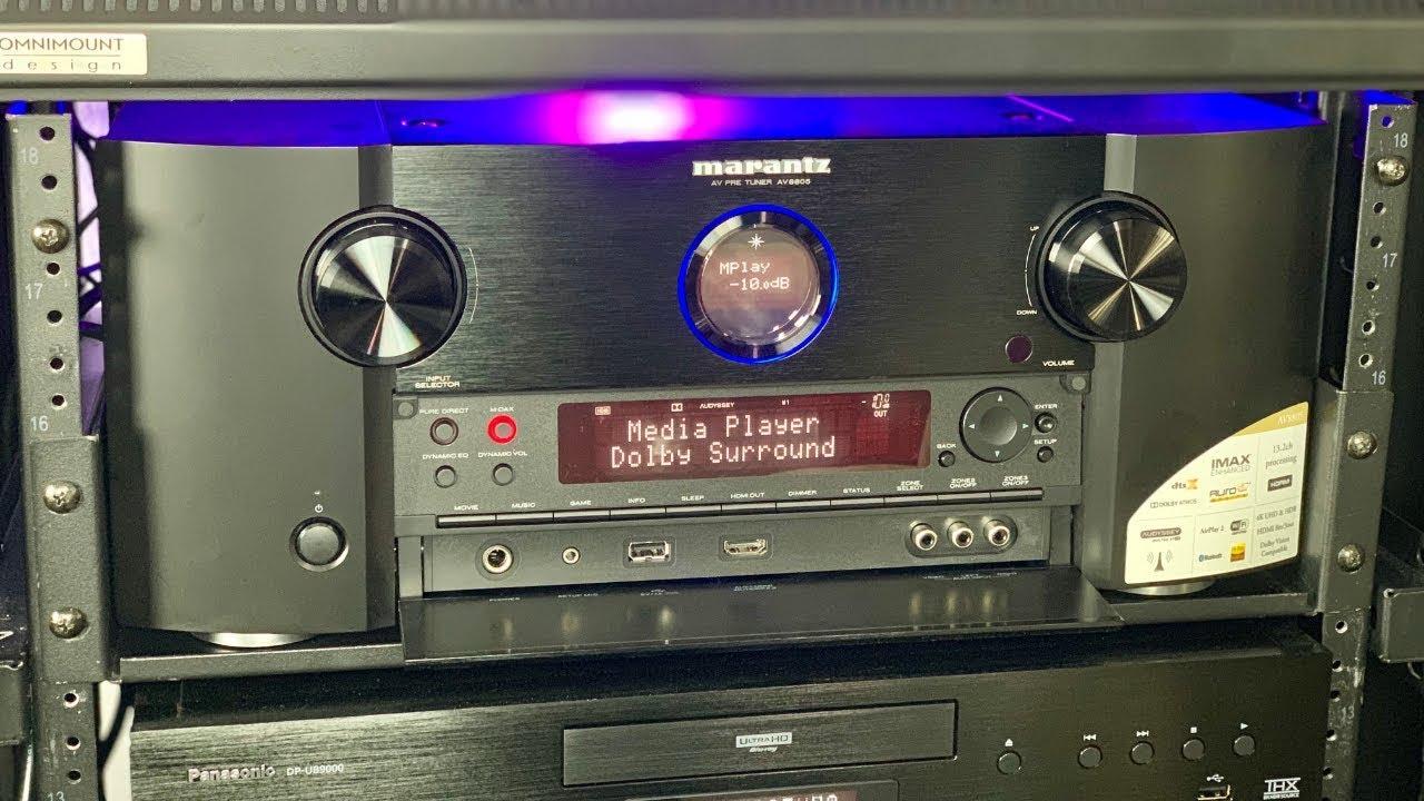 Marantz AV8805 13 2 Pre-amplifier Review!! Best of the Best??
