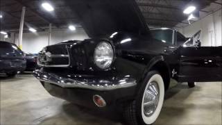 1965 Ford Mustang Black Cherry