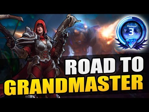 Valla - wrecking with Yellowflash // Road to Grandmaster 2017 S2 // Heroes of the Storm