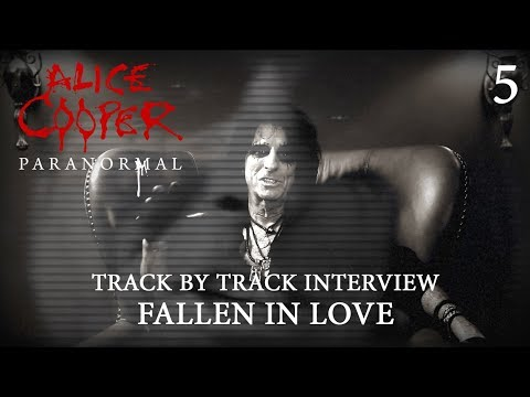 """Alice Cooper """"Paranormal"""" - Track by Track Interview """"Fallen In Love"""""""