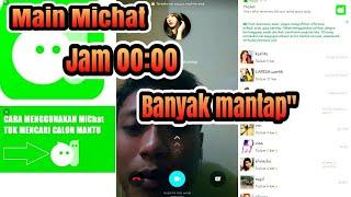 Michat-Chat Gratis & Bertemu Orang Baru aplikasi android screenshot 1
