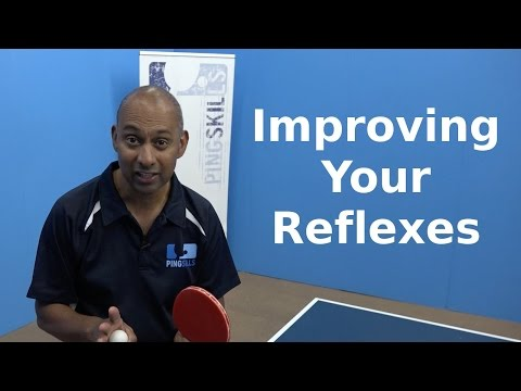 Improving Your Reflexes | Table Tennis | PingSkills