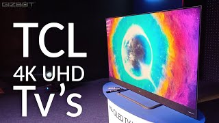 TCL launches new 4K UHD and Full HD Android TVs in India