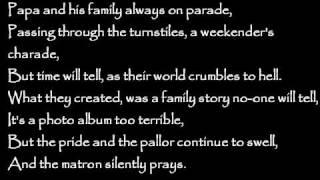 Bad Religion - Pride And The Pallor Lyrics