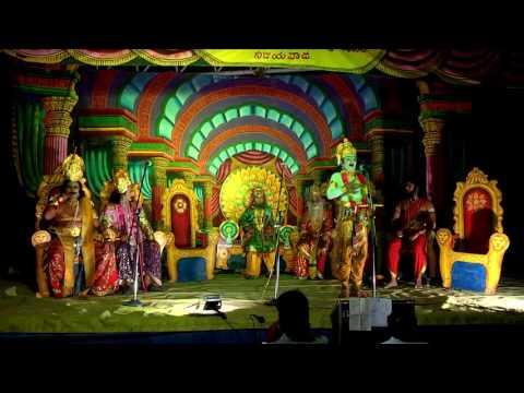 srikrishna rayabaram padyanatakam Dr PVN KRISHNA as duryodhana